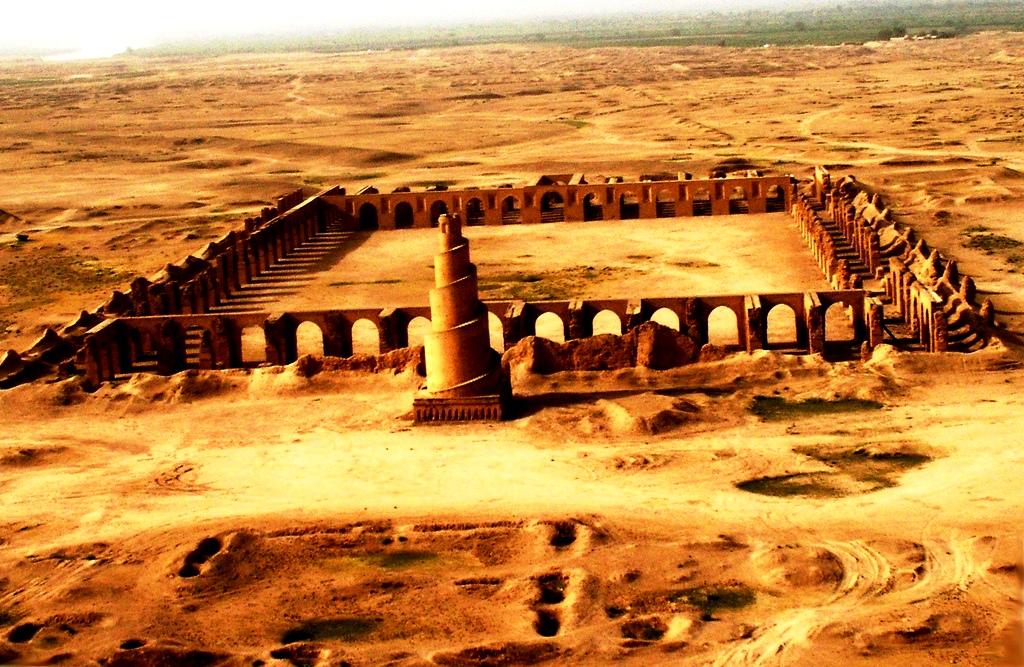 руины самарры