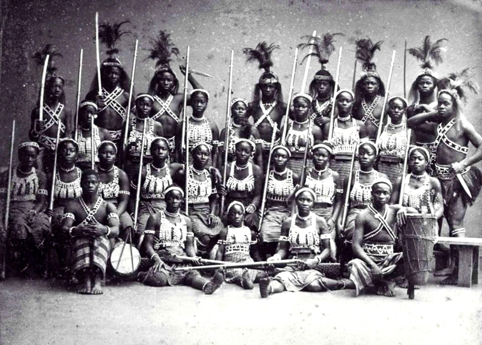 женский батальон дагомеи