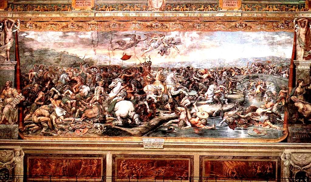 Битва между Константином и Максенцием