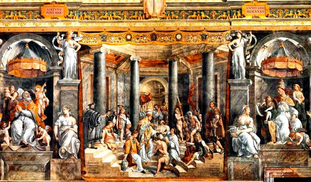 Крещение Константина