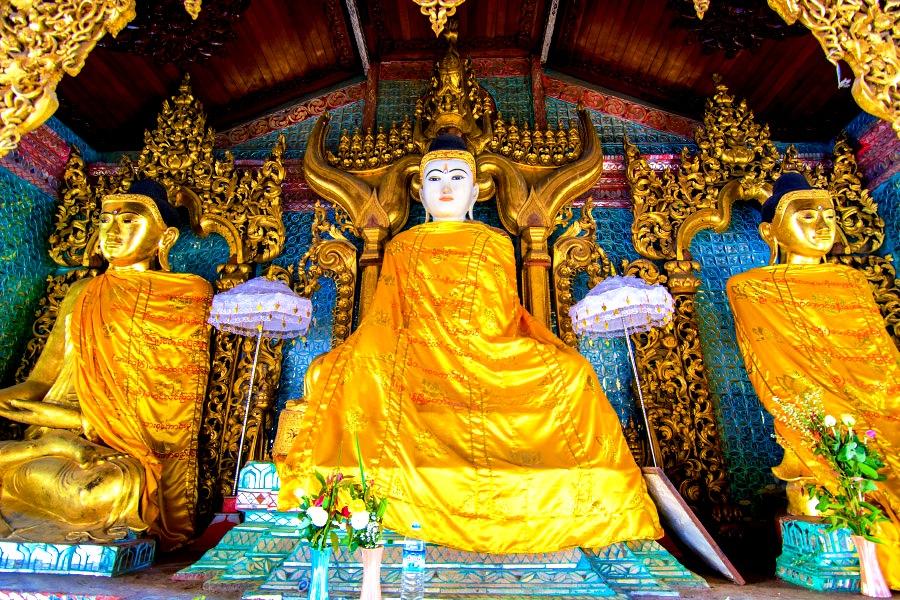 умиротворенные будды шведагона