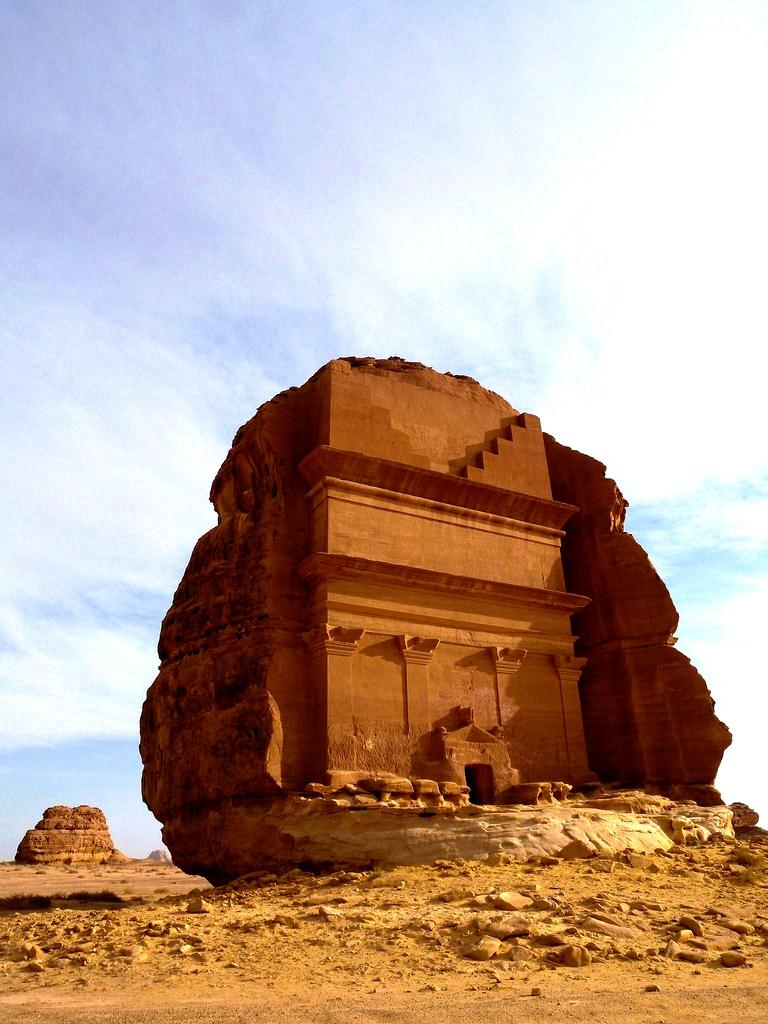 камень аравийской пустыни