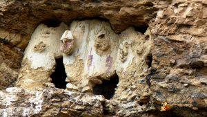пещерные ниши с мумиями