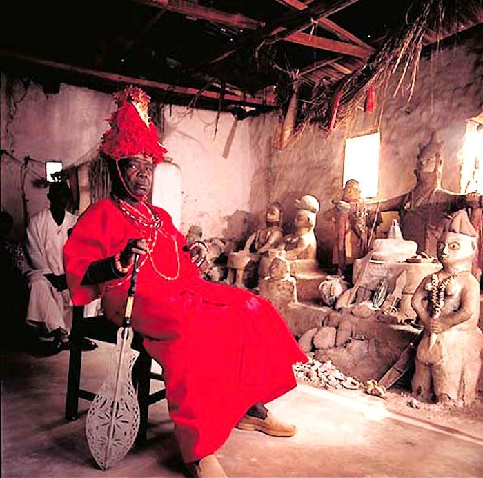 король племени эредиаува