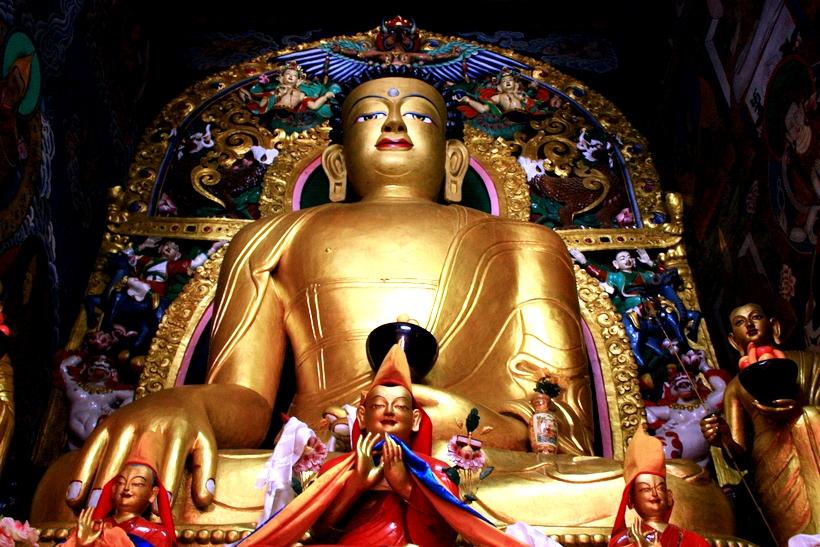 золотой будда сарнатха