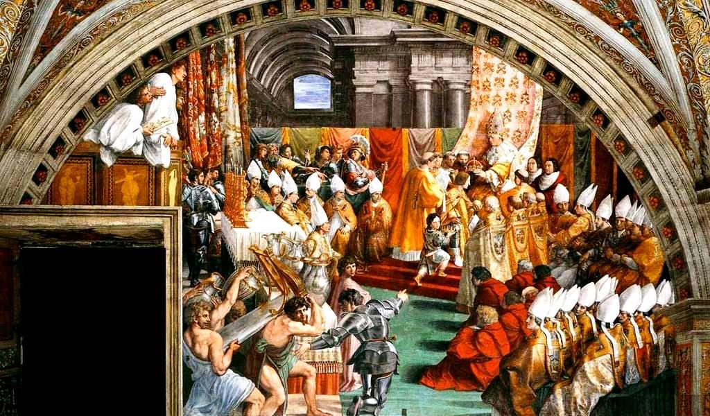 Коронование Карла Великого