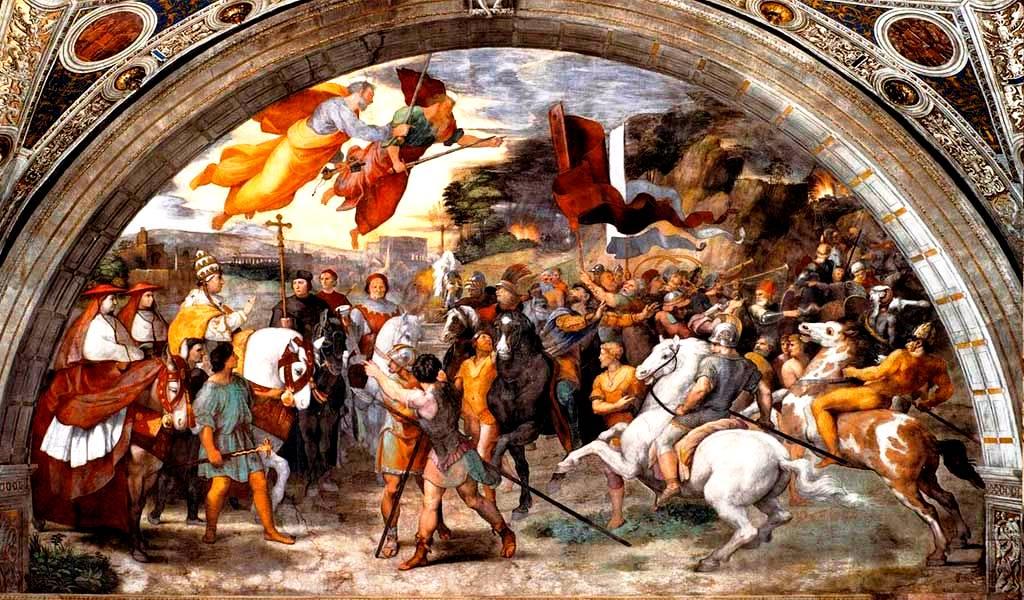 Встреча Папы Льва с Аттилой