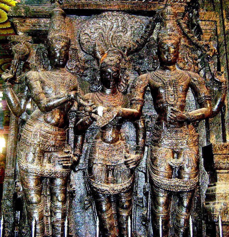 скульптуры минакши
