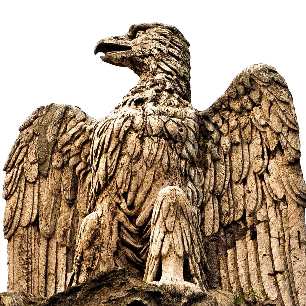 статуя орла