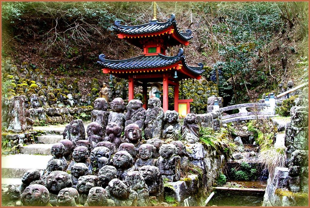 панорама синтоистского храма