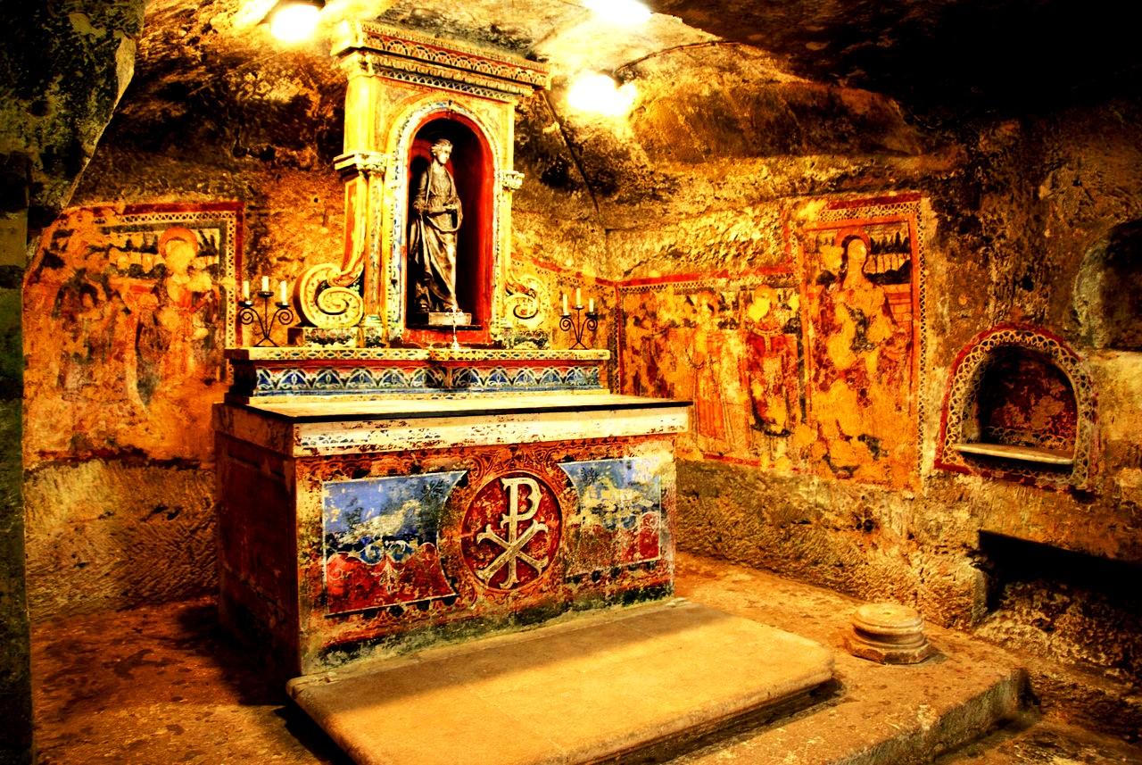 подземный алтарь