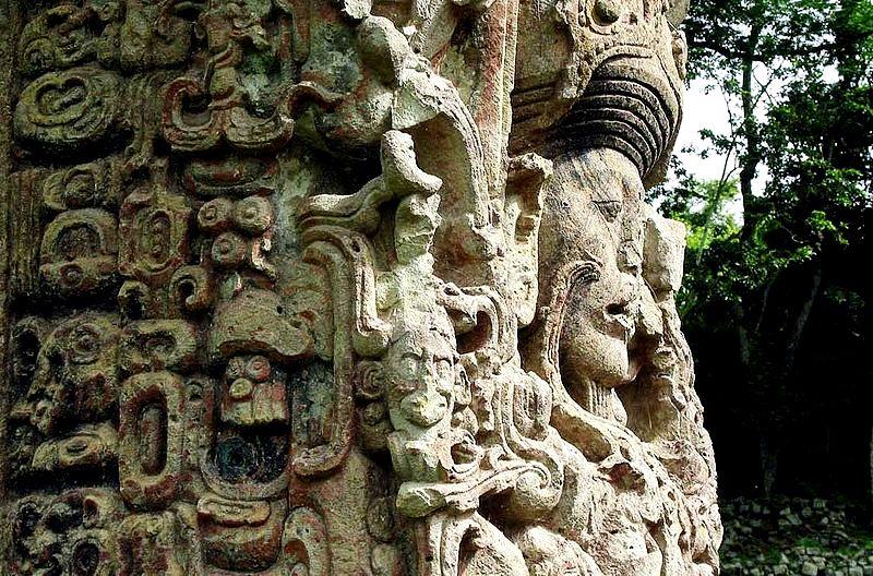 столб майя