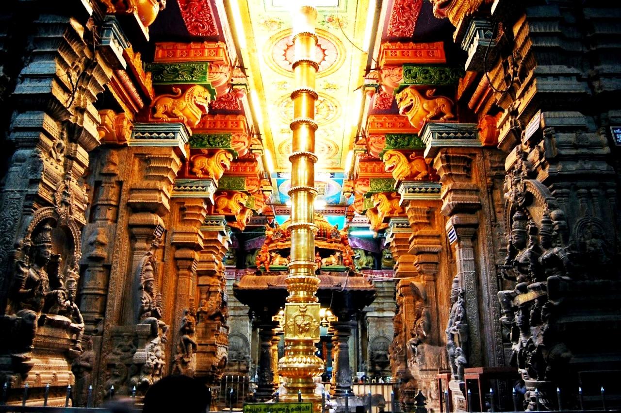 помещение храма минакши