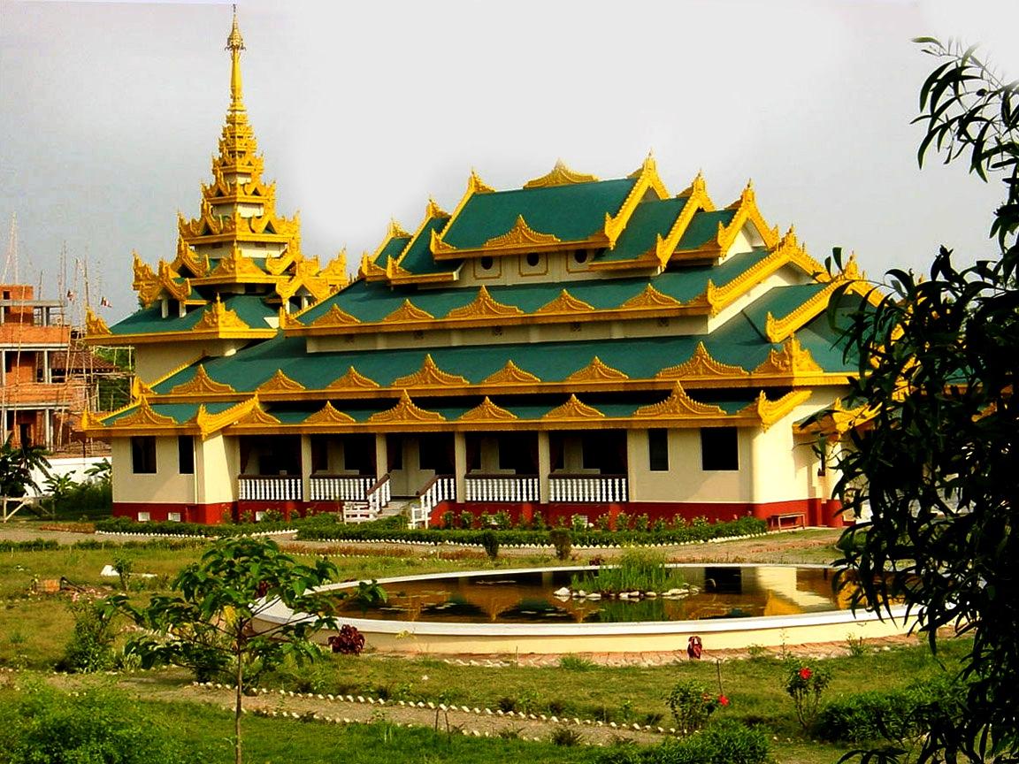 зеленый храм лумбини
