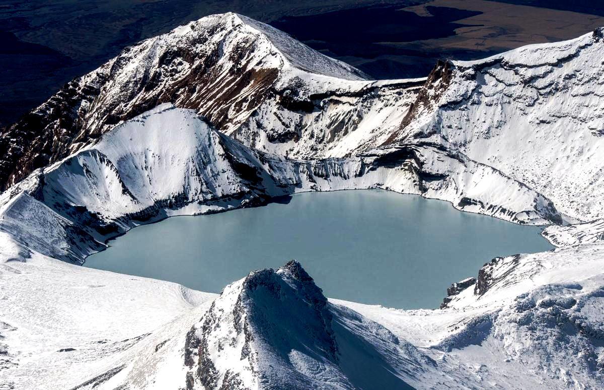 вулкан руапеху
