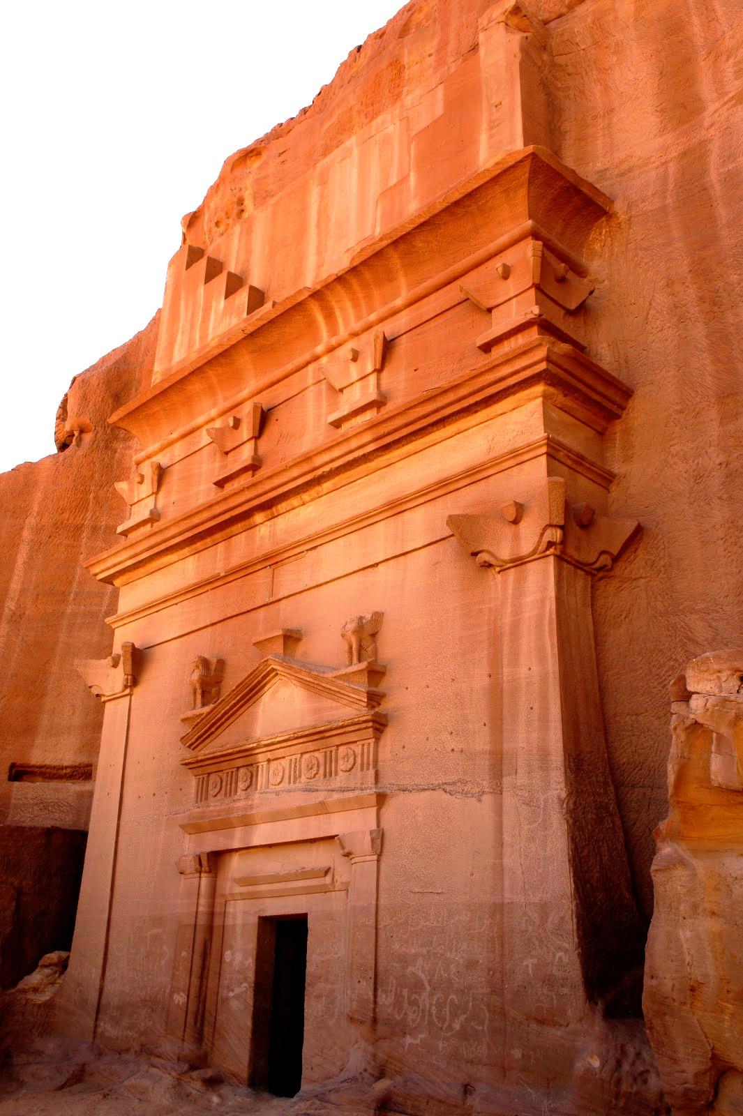 дворцы мадаин-салиха
