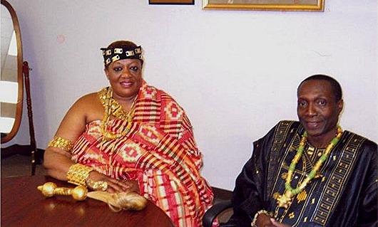 королева с министром