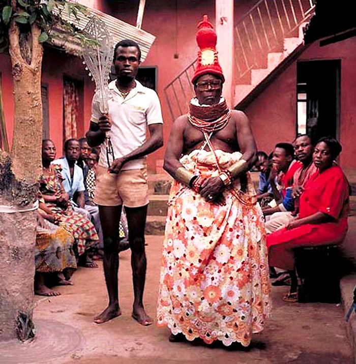 исиенвенро джеймс, король нигерии