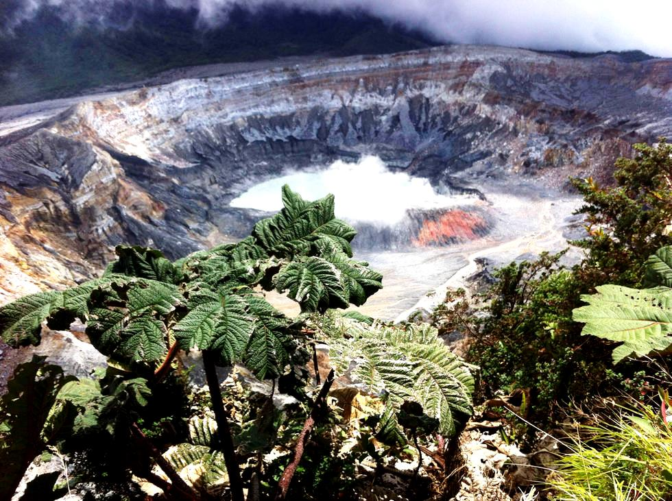 кратер вулкана ринкон