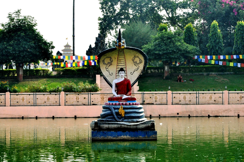 будда и царь змей