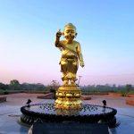 статуя ребенка будды