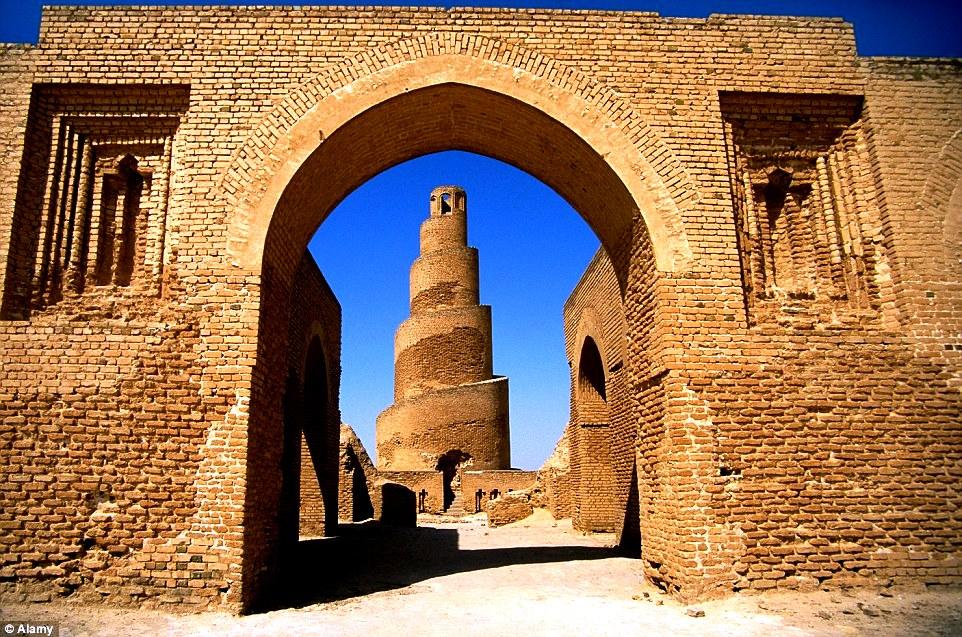 минарет мечети аль-мальвия