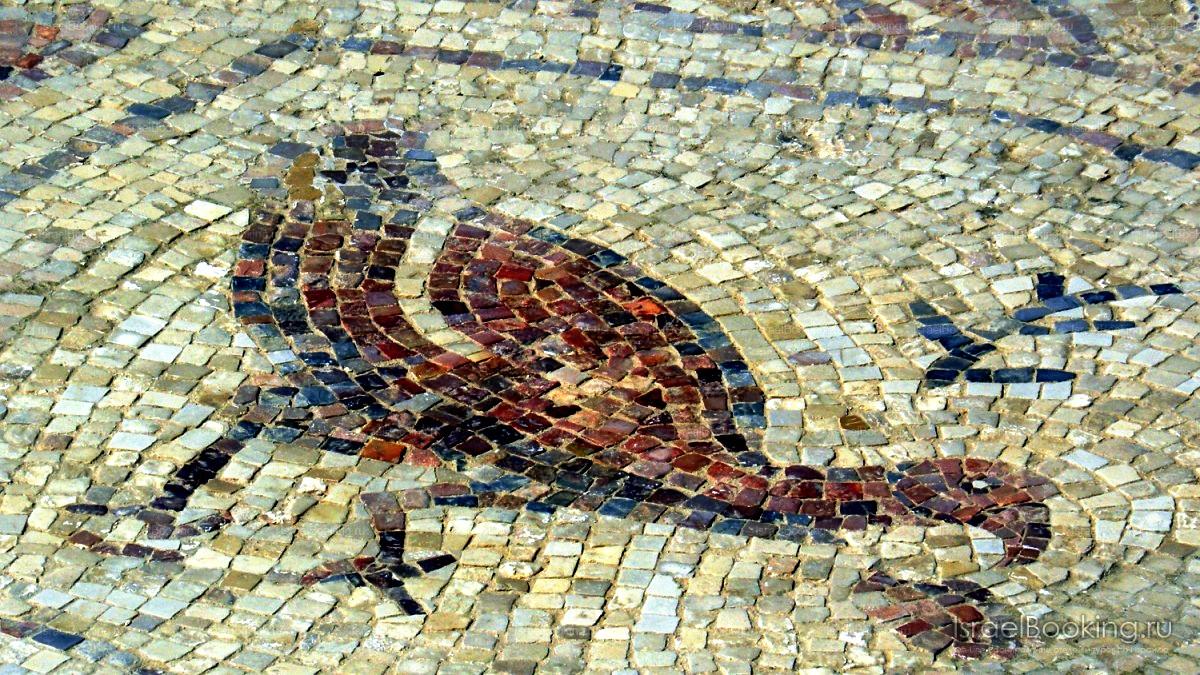 мозаичный пол мамшита