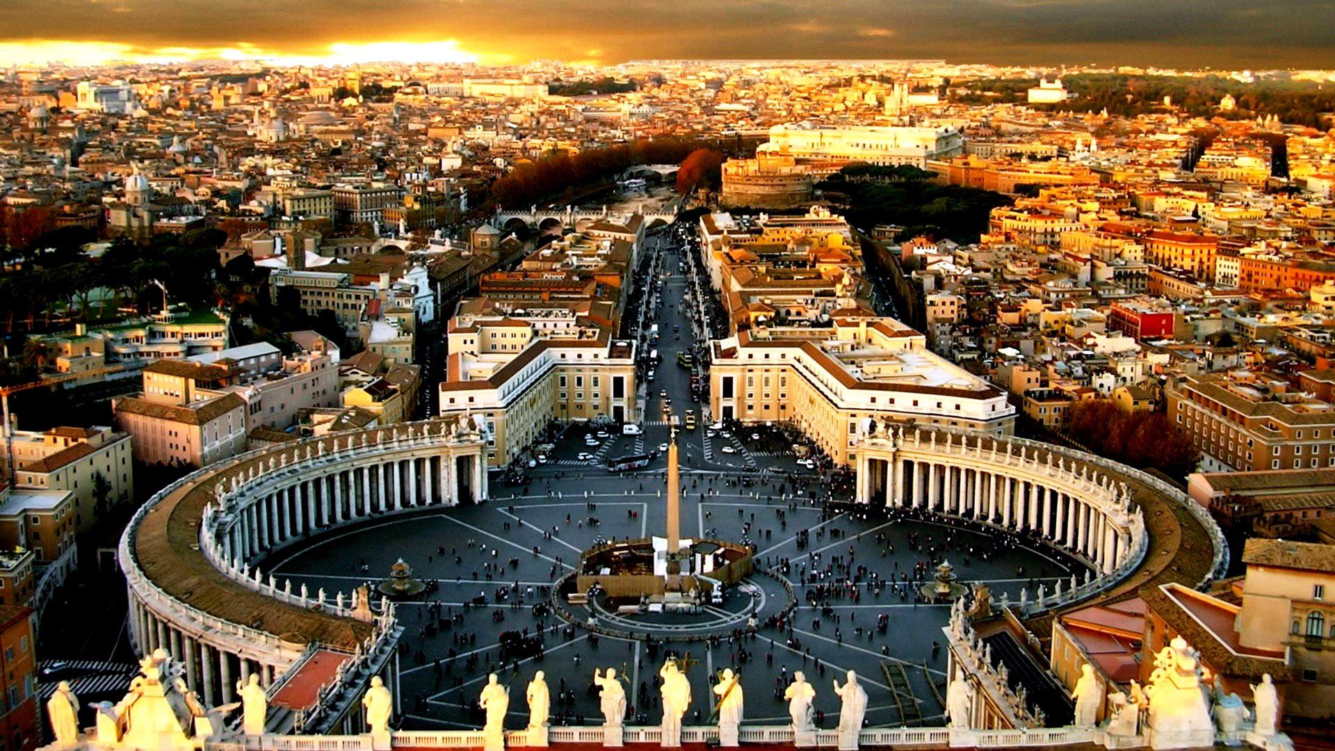 площадь базилики святого петра