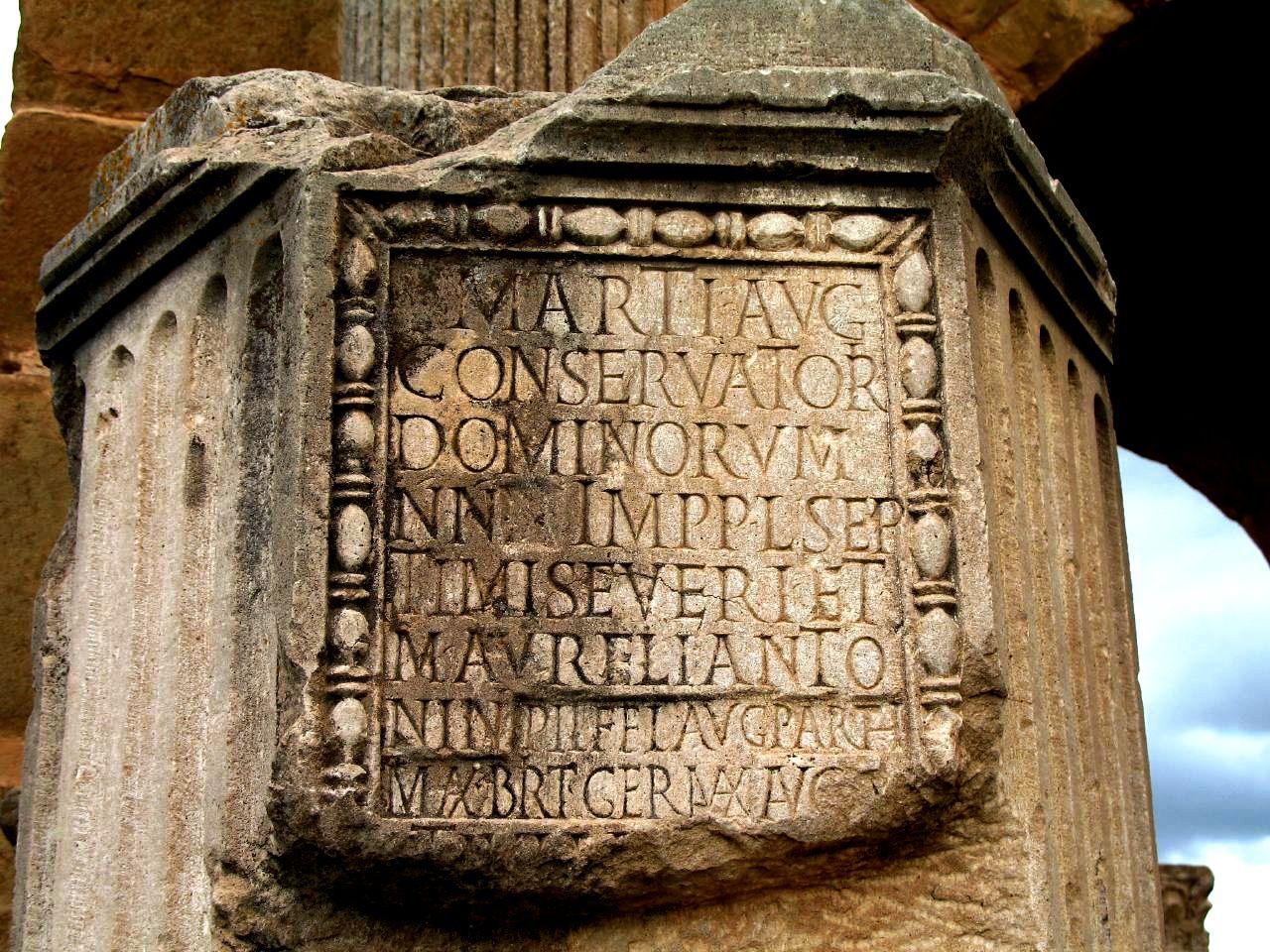 римская табличка
