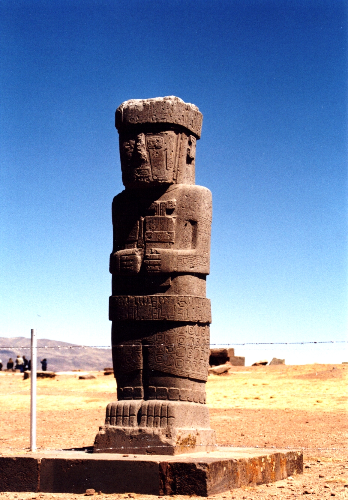 скульптура в тиауанако