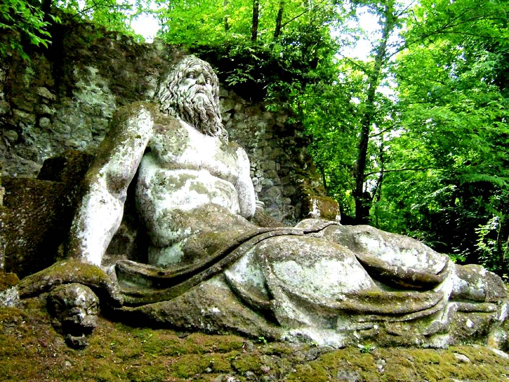 статуя нептуна