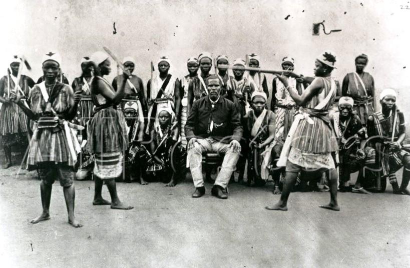 учения бойцов женского батальона