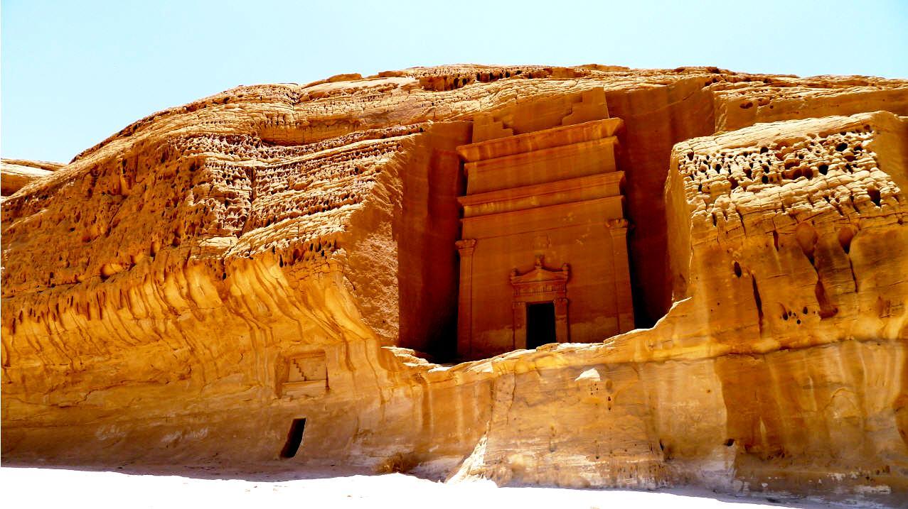 скальные могилы мадаин-салиха