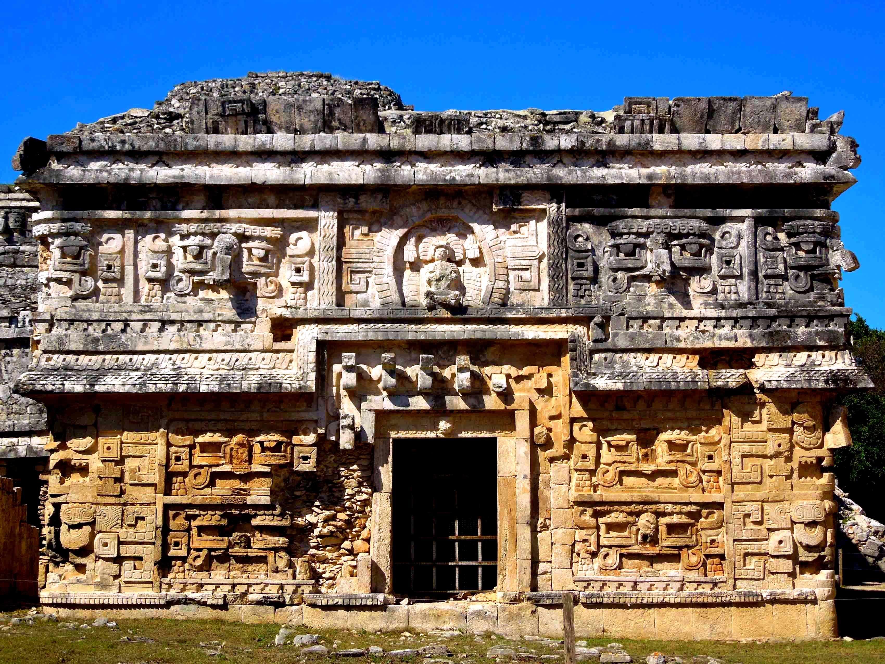 древнее строение чичен-ица