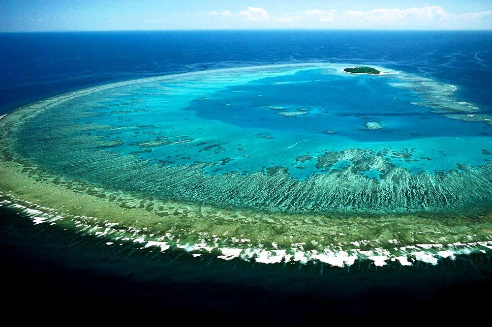 мощь большого барьерного рифа