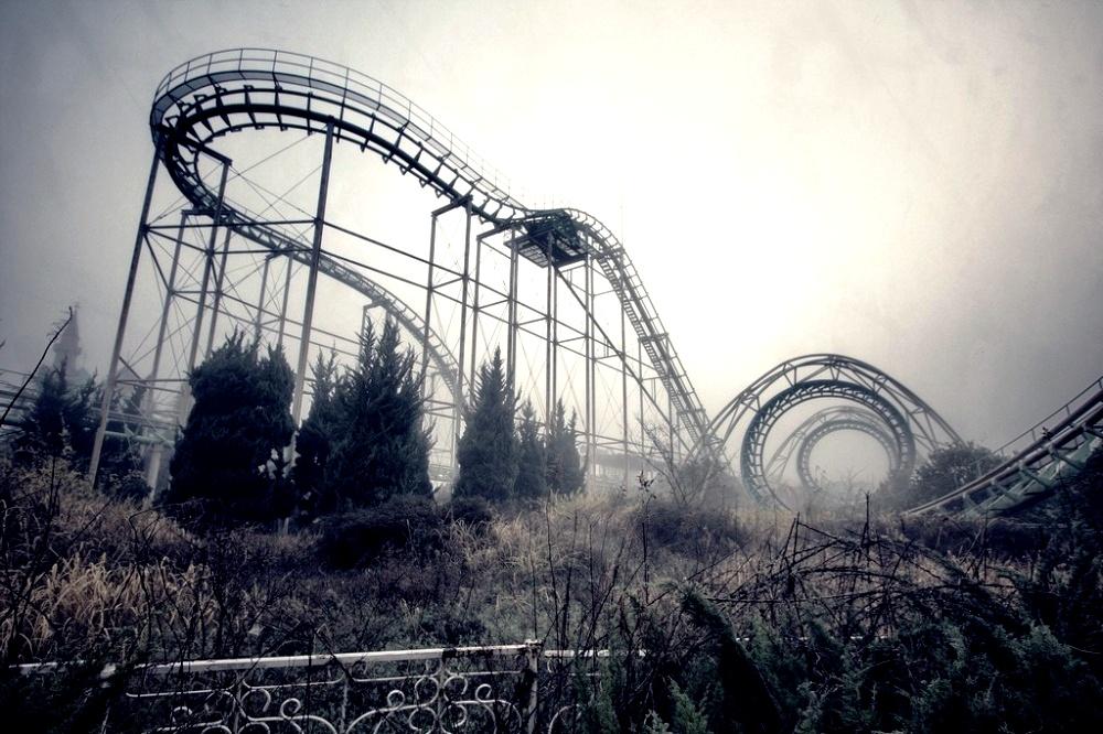 американские горки в тумане
