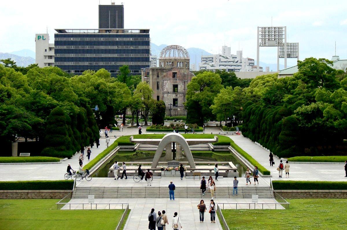 парк мира хиросима