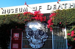 фасад музея смерти