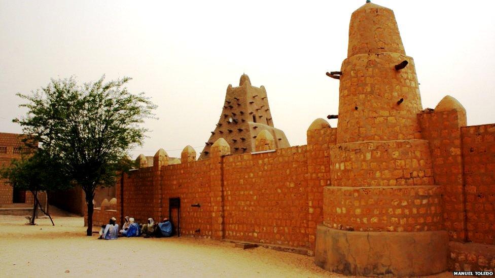 мечеть санкоре тимбукту