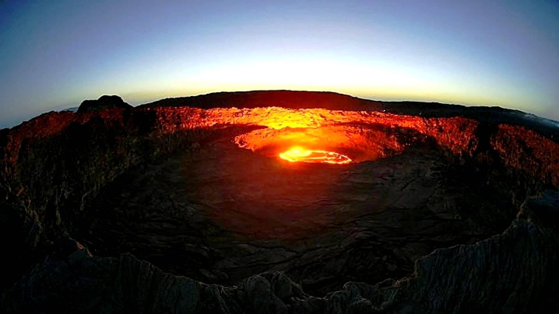 мистический вулкан