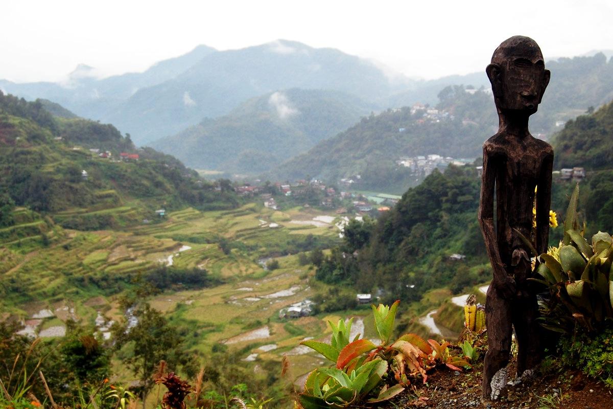 деревянный идол ифугао