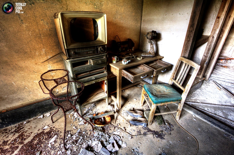 комната призраков хасимы