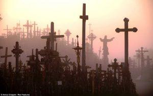 кресты в тумане