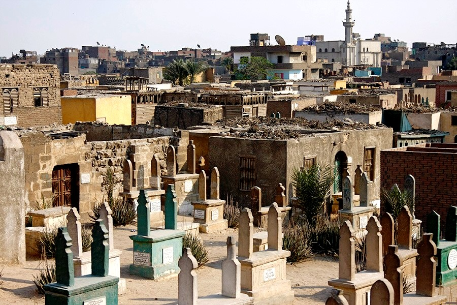 кварталы каирского некрополя