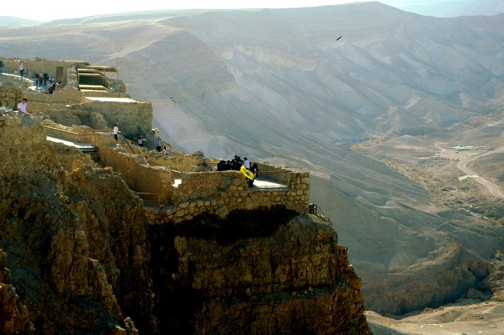 ландшафты масады