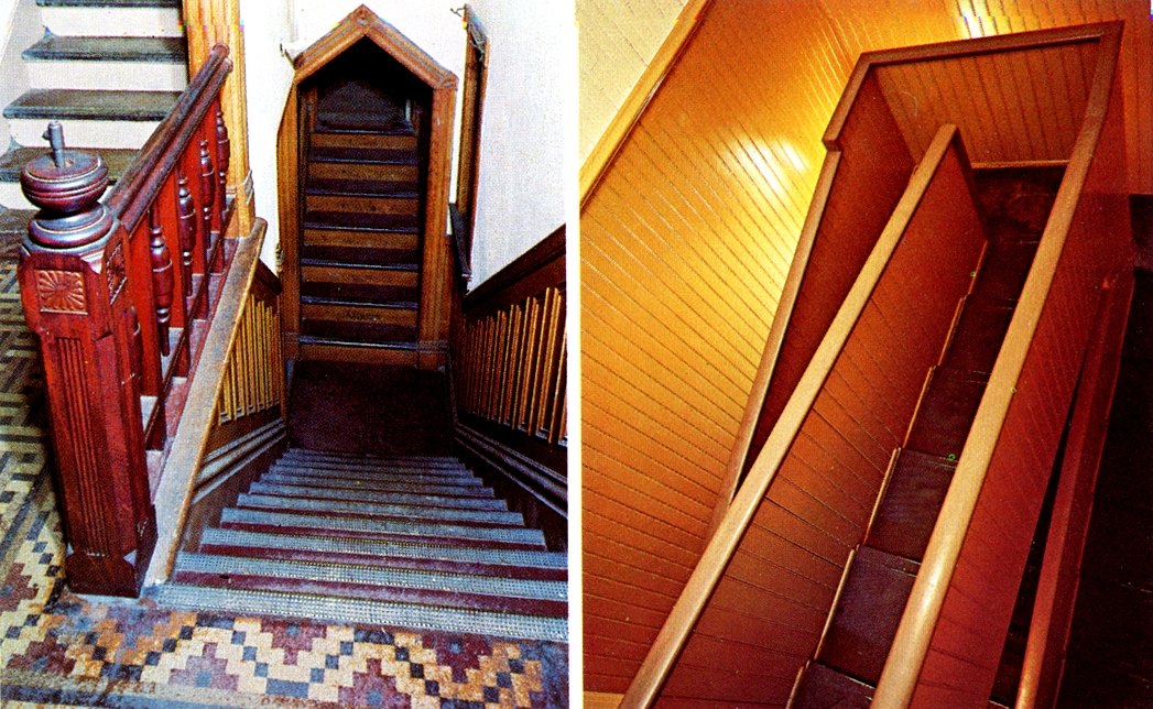 тупиковые лестницы дома Винчестеров