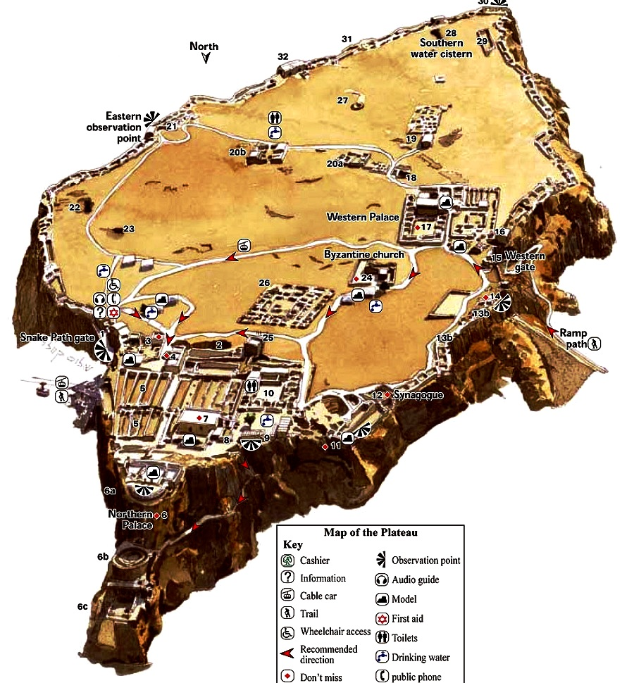 карта масады