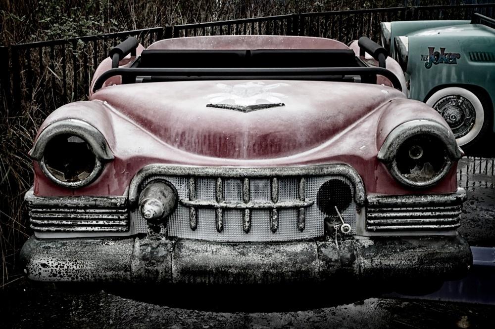 убитая машина