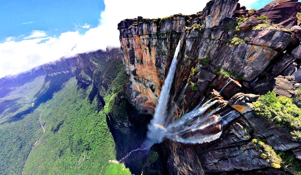 водопады канаймы