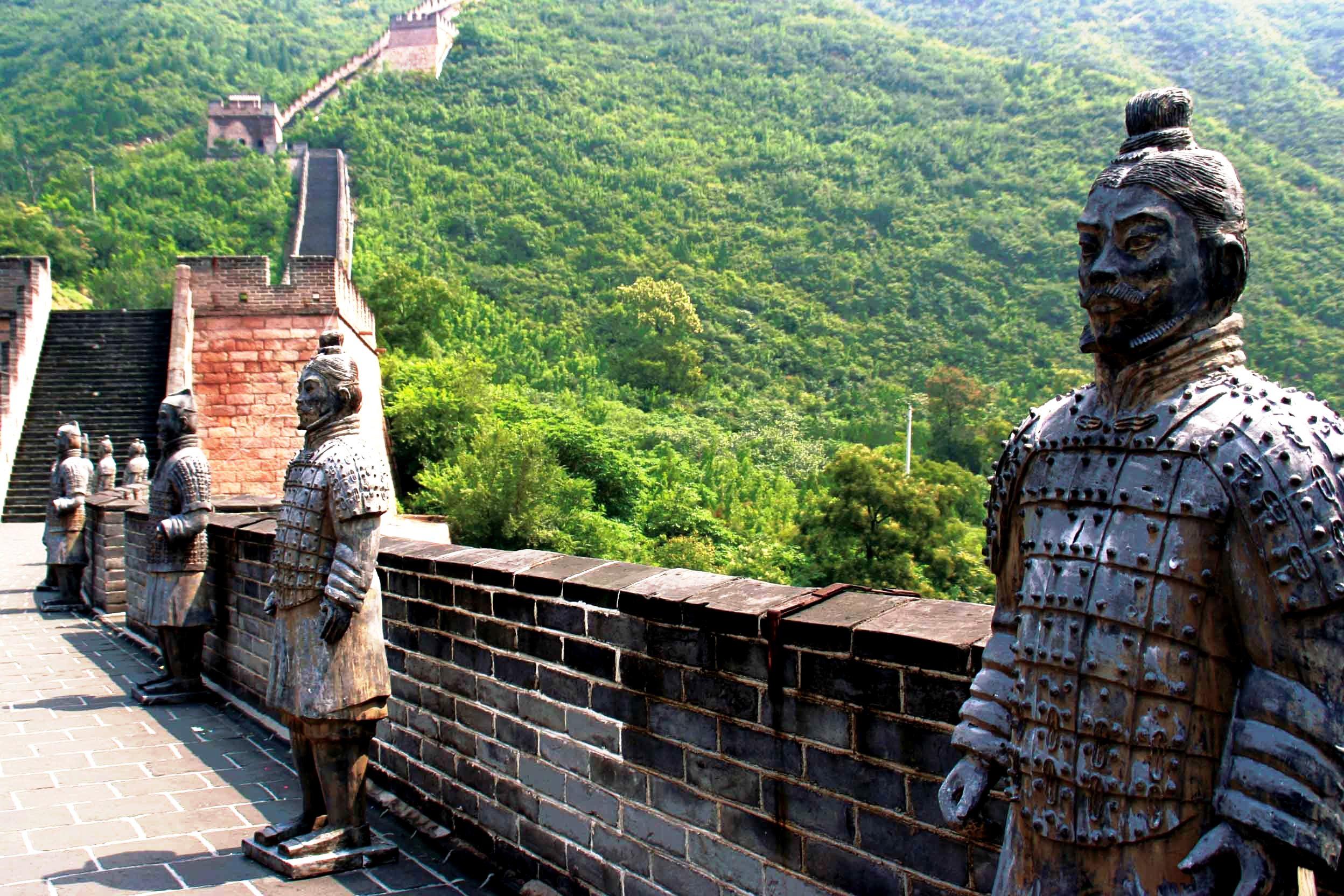 воины великой стены